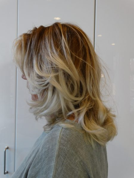 Balayage blond @ HairDistrict Schiedam