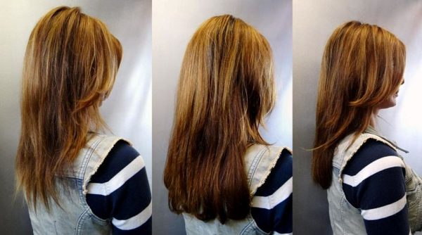 Hairweave, weft haarverlenging met mat.